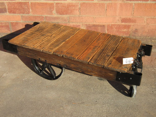 This Modified Railroad Cart Has A Unique Style. In Its Original Form, It  Teetered Too Much From End To End, So This Is The Solution We Found.