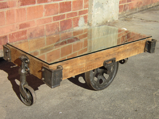 Antique Lineberry Furniture Factory Carts